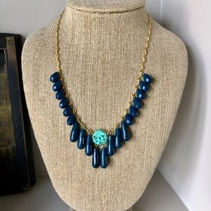 David Aubrey Jade Fringe Necklace NWT